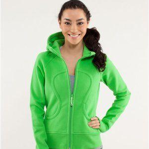 Lululemon Green Scuba Hoodie (Lined Hood)